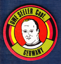 West Germany Uwe Seeler Hamburg
